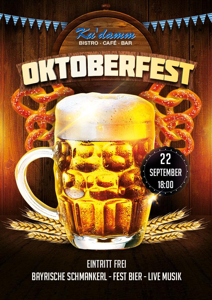 Oktoberfest 2017 im Ku'damm